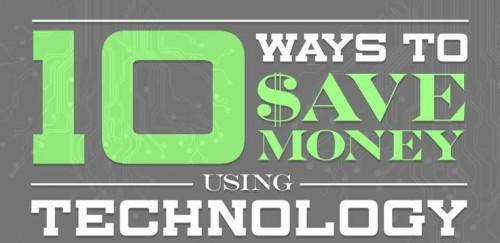 10 zpusobu, jak usetrit pomoci technologie - infografika - náhled