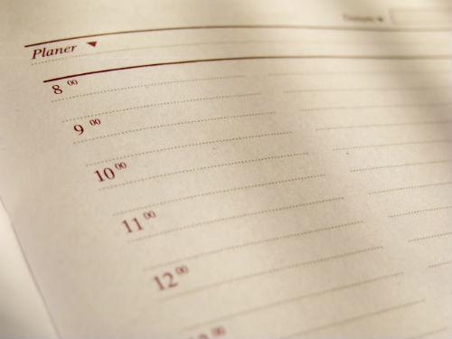 Klasická tabulka je nejlepší volbou pro tvorbu obsahového kalendáře