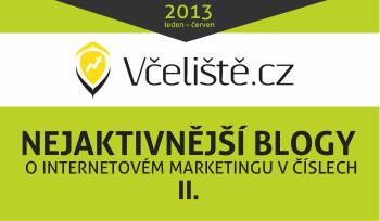 Infografika Včeliště - nejaktivnější české blogy o internetovém marketingu II.