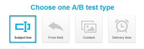 možnosti a/b testování e-mail marketingu v GetResponse