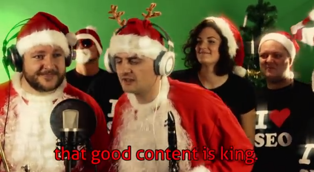 Vánoční SEO Koleda