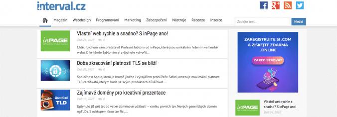 Interval.cz