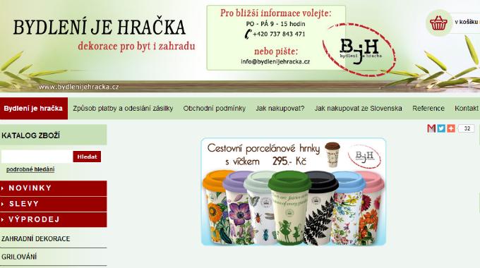 SEO Audit Stránek Bydlenijehracka.cz