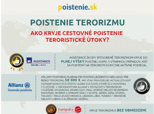 pojištění terorizmu