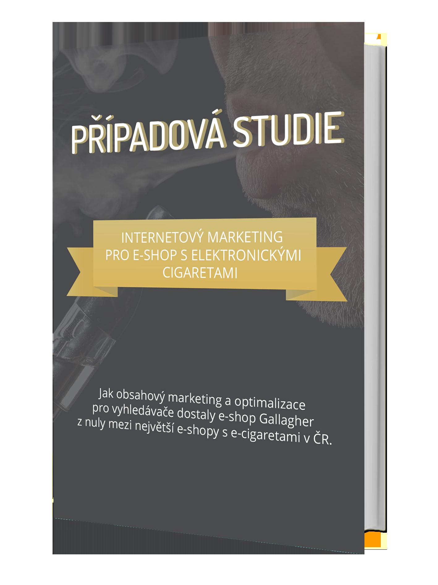 Případová studie obsahového marketingu pro e-shop s elektronickými cigaretami