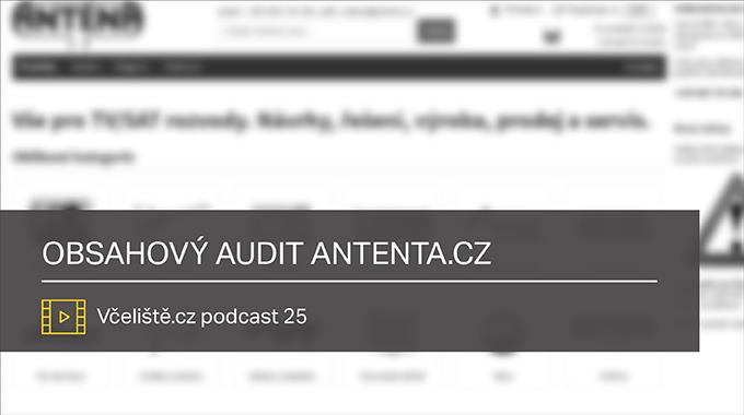 Obsahovy Audit Antena