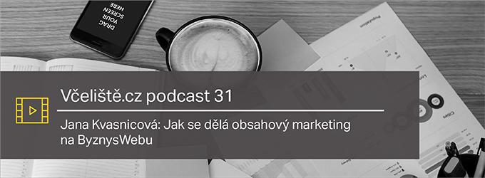 Jana Kvasnicová: Jak Se Dělá Obsahový Marketing Na ByznysWebu – Včeliště.cz Podcast 31