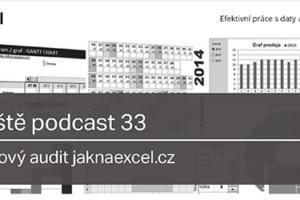 Obsahový Audit Jaknaexcel.cz – Včeliště.cz Podcast 33