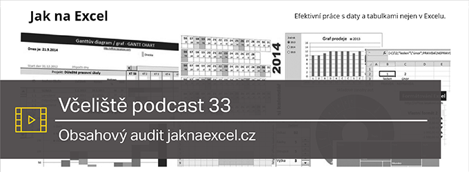 Podcast 33: Jaknaexcel