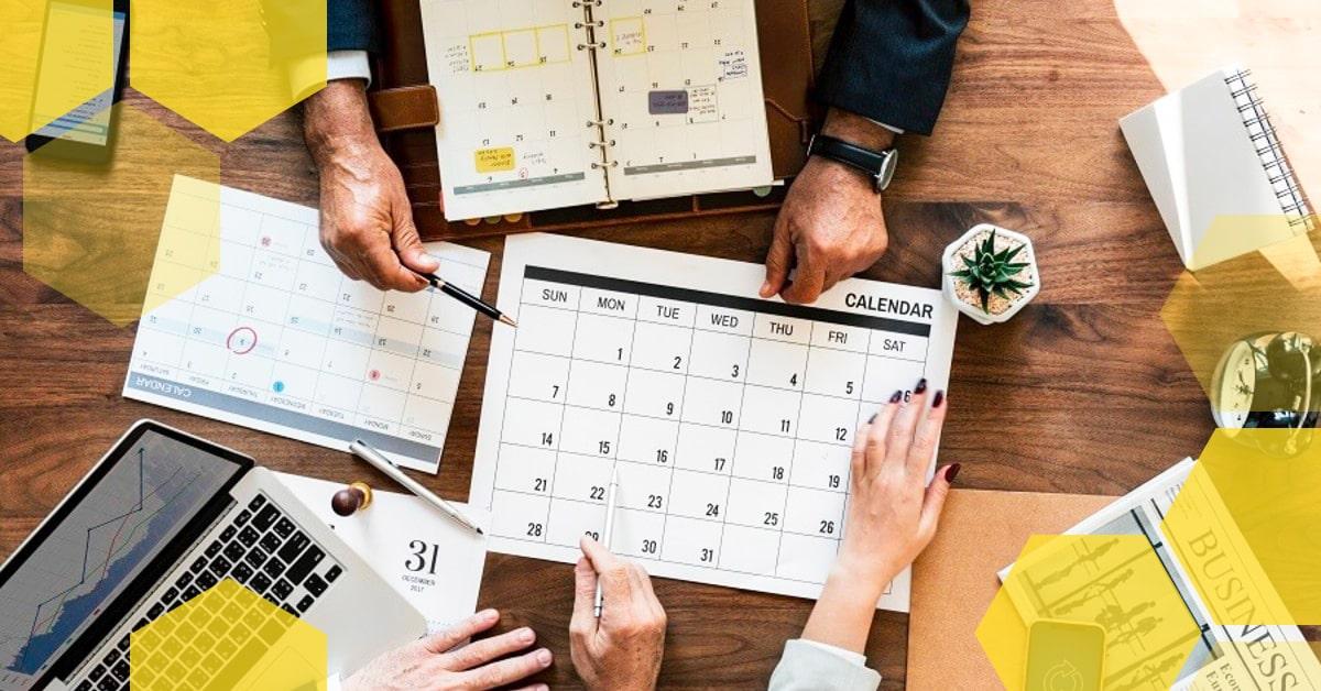 13 šablon Obsahových Kalendářů Zdarma Ke Stažení