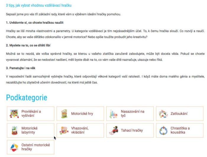 Kvalitní, přínosný, užitečný obsah ocení návštěvníci i vyhledávače