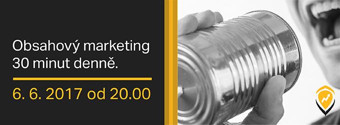 Dělejte úspěšný Obsahový Marketing, Stačí Vám Na To 30 Minut Denně
