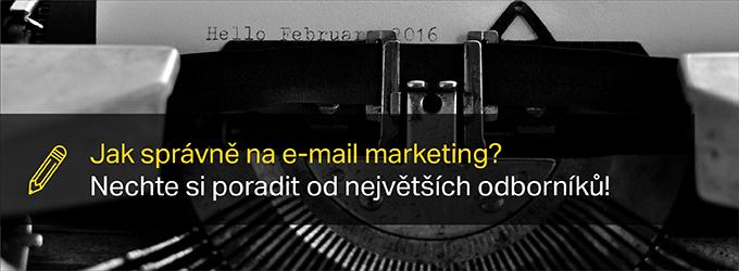 Jak Na E Mail Marketing? Nechte Si Poradit Od Odborníků – Zdarma!