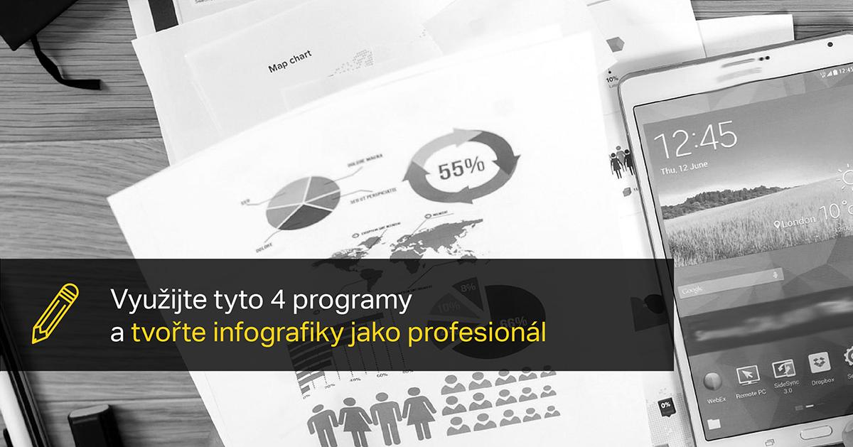 Využijte Tyto 4 Programy A Tvořte Infografiky Jako Profesionál