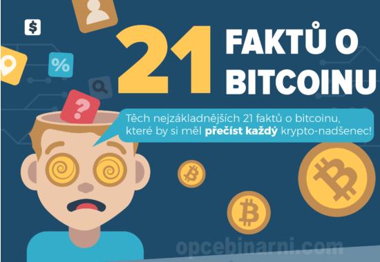 21 faktů o bitcoinu.