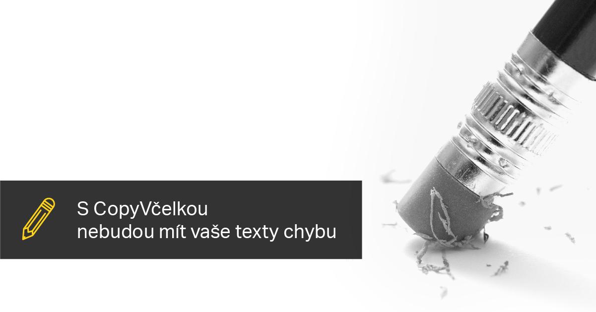 S CopyVčelkou Nebudou Mít Vaše Texty Chybu