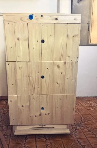 Nová včelí úl – Včeliště.