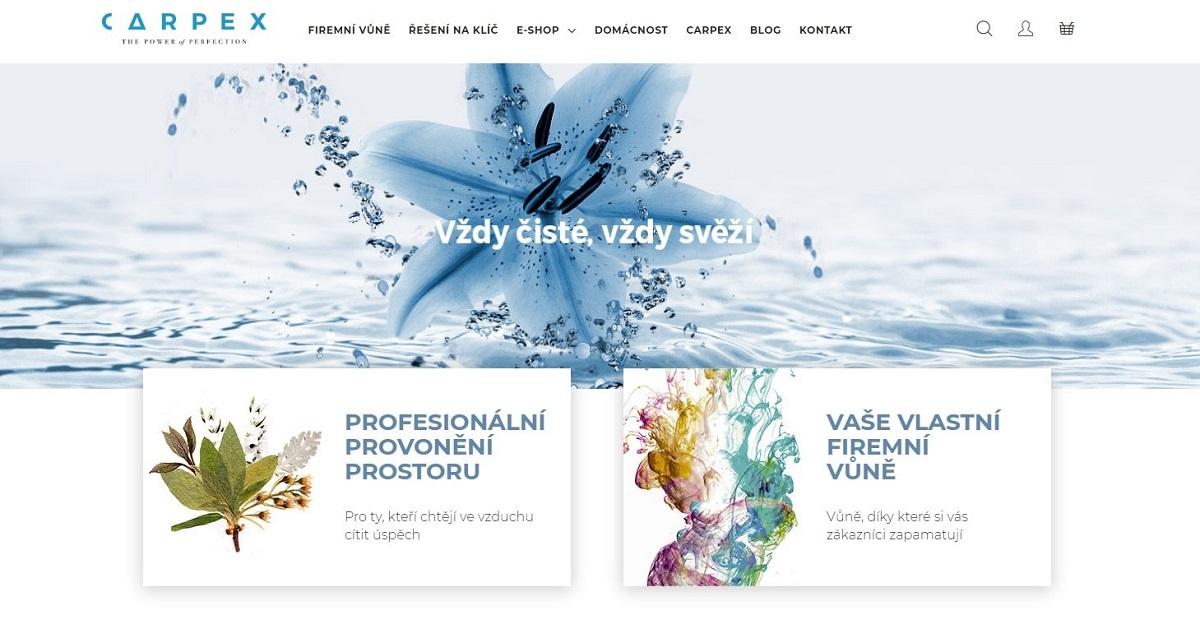 Textace webu