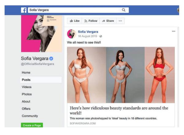 Facebook SuperDrug.