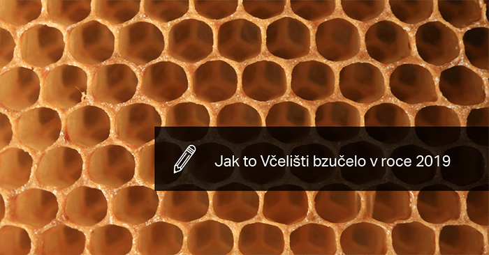 Včeliště V Roce 2019.