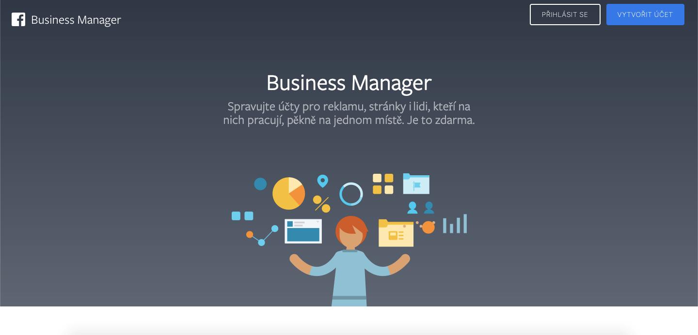 Jak Nastavit A Založit Business Manager