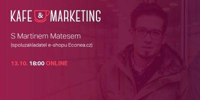 Kafe A Marketing Poprvé Online