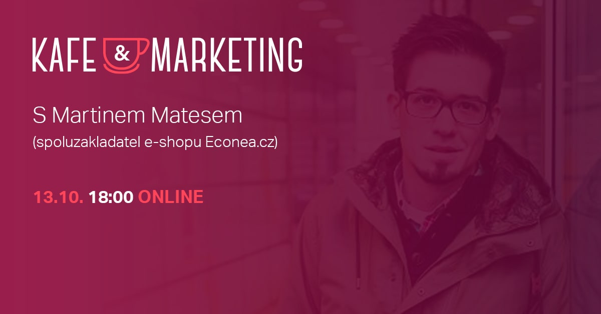 Kafe A Marketing Poprvé Online