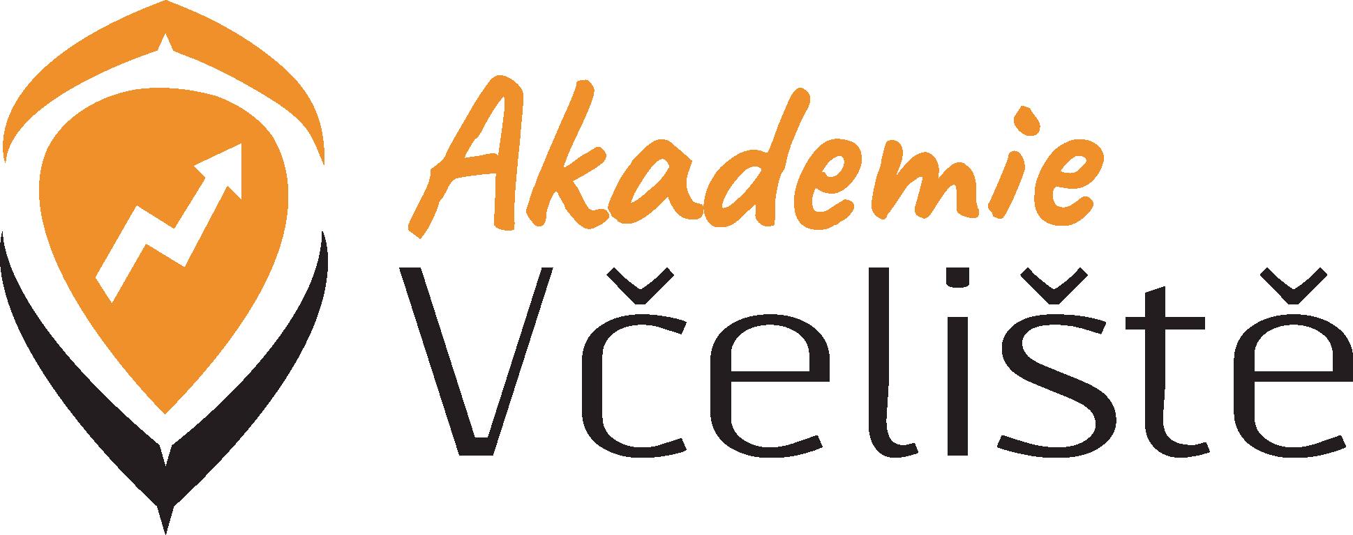 Akademie Včeliště logo.