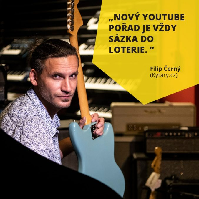 Filip Černý Kytary.cz