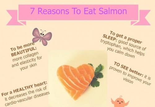 7 duvodu, proc jist lososa - infografika - nahled