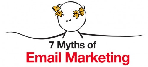 7 mytu o e-mail marketingu - infografika - nahled