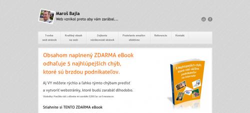Maroš Bajla - E-book