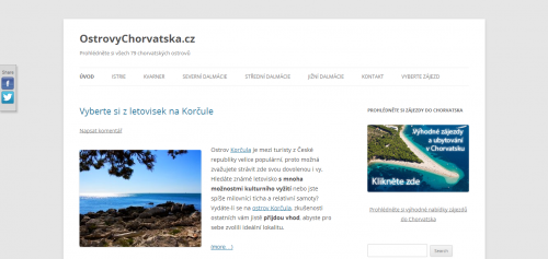 Ostrovychorvatska.cz hlavni strana