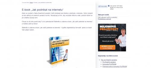 Pavel Fara - Jak podnikat na internetu