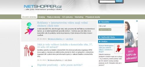 Printscreen netshopper.cz