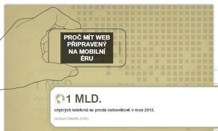 Proc mit web pripraveny na mobilni eru - infografika - nahled