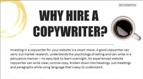 Proc najmout copywritera - infografika - nahled