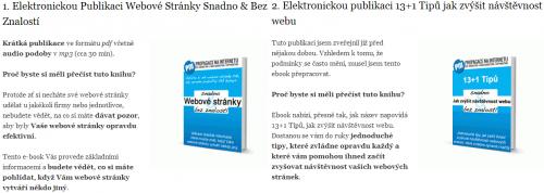 Jakub Čižmar - Propagace na internetu - Ebooky