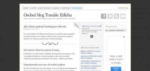 Tomáš Erlich Jak vybrat správný hosting