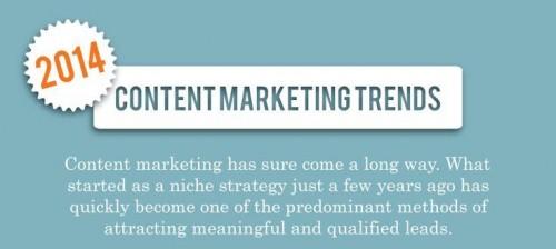 Trendy obsahoveho marketingu 2014 - infografika - nahled