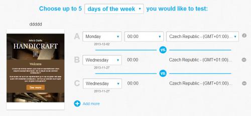 testování času doručení v e-mail marketingu