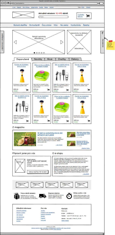 Ukázka Návrhu Webu 3