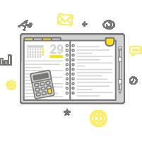 Organizace činností Na Online Projektu