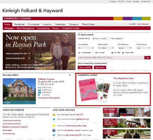 Realitní kancelář Kingleigh je příkladem skvělého obsahového marketingu