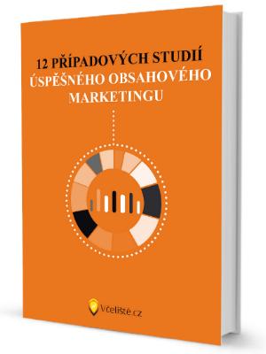 Kniha Případové studie Obsahový marketing
