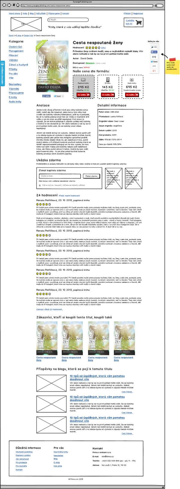 Ukázka Návrhu Webu 4