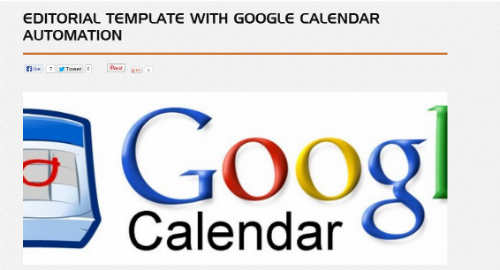 Google dokumenty - další vychytaná šablona pro obsahovou nebo sociální strategii