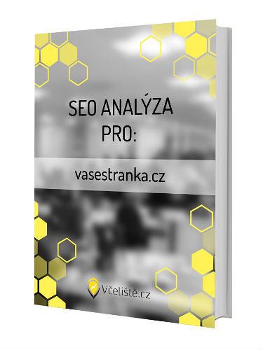 Vypracovaná SEO analýza